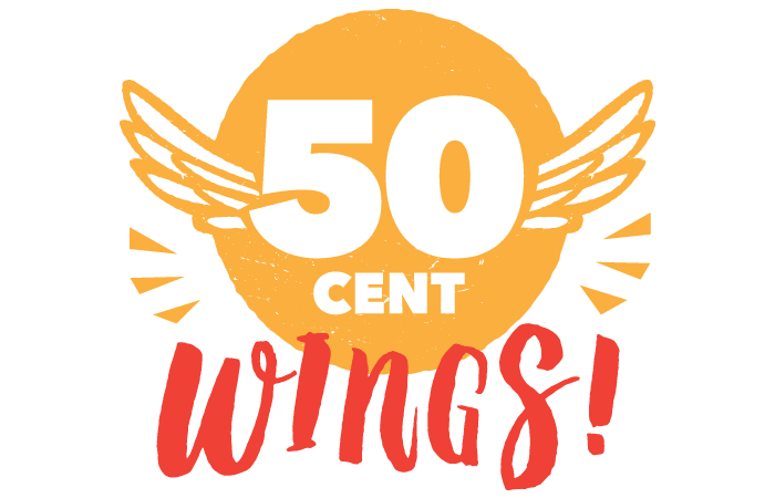 50 Cent Wing!