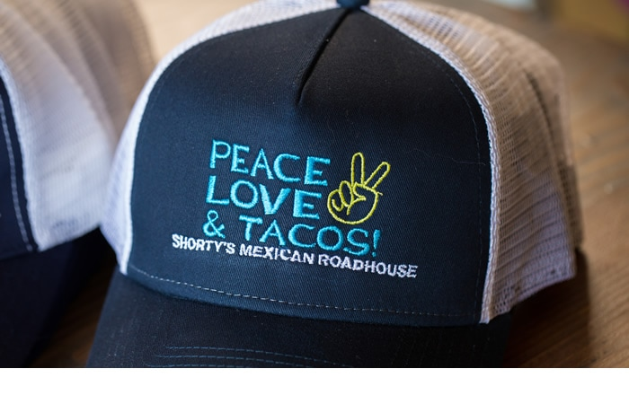 Peace, Love & Tacos Hat